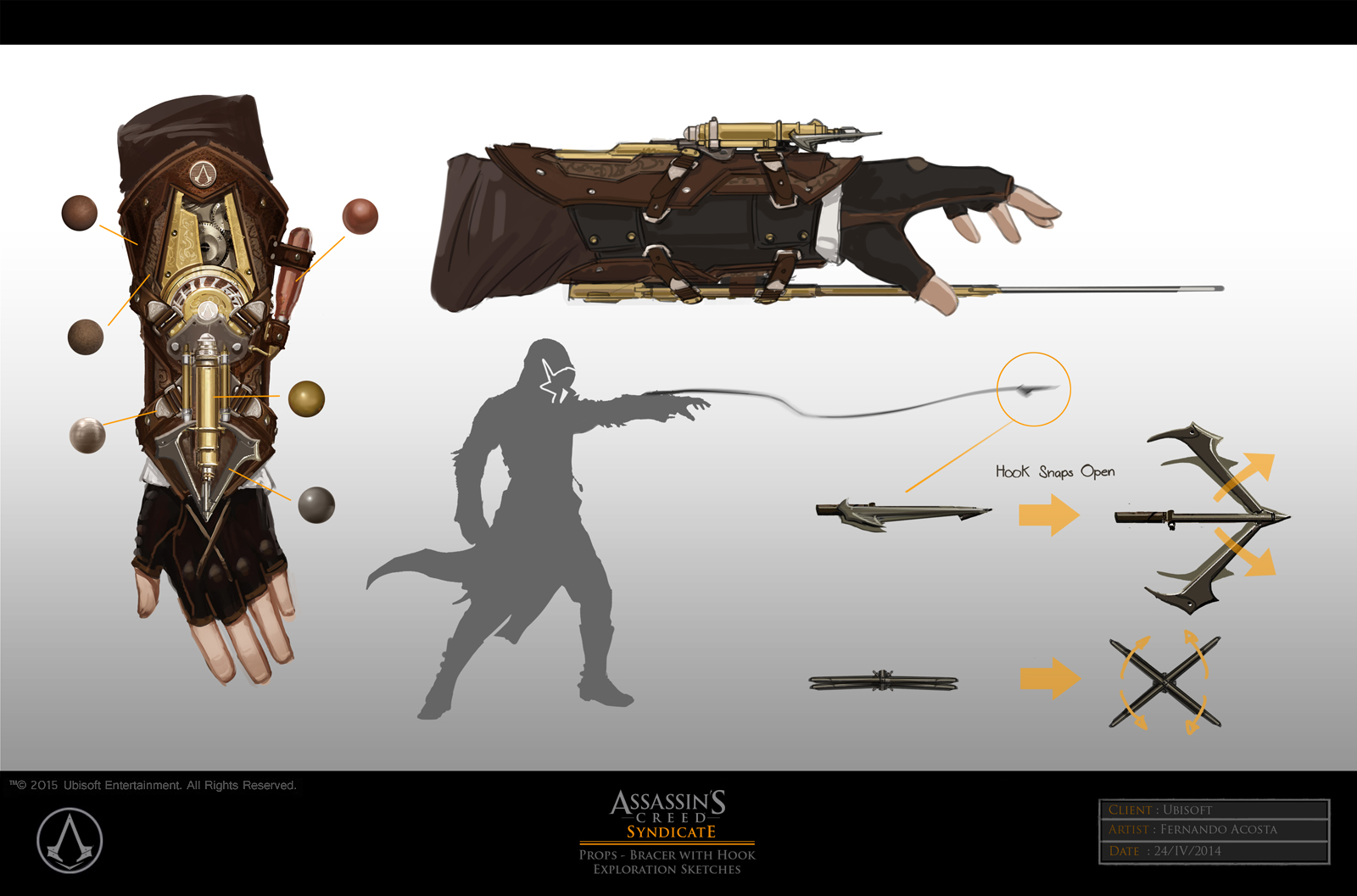 Assassin S Creed Syndicate Concept Art By Fernando Acosta
