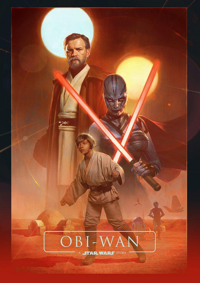 obi wan a star wars story fan art poster bjorn hurri 03