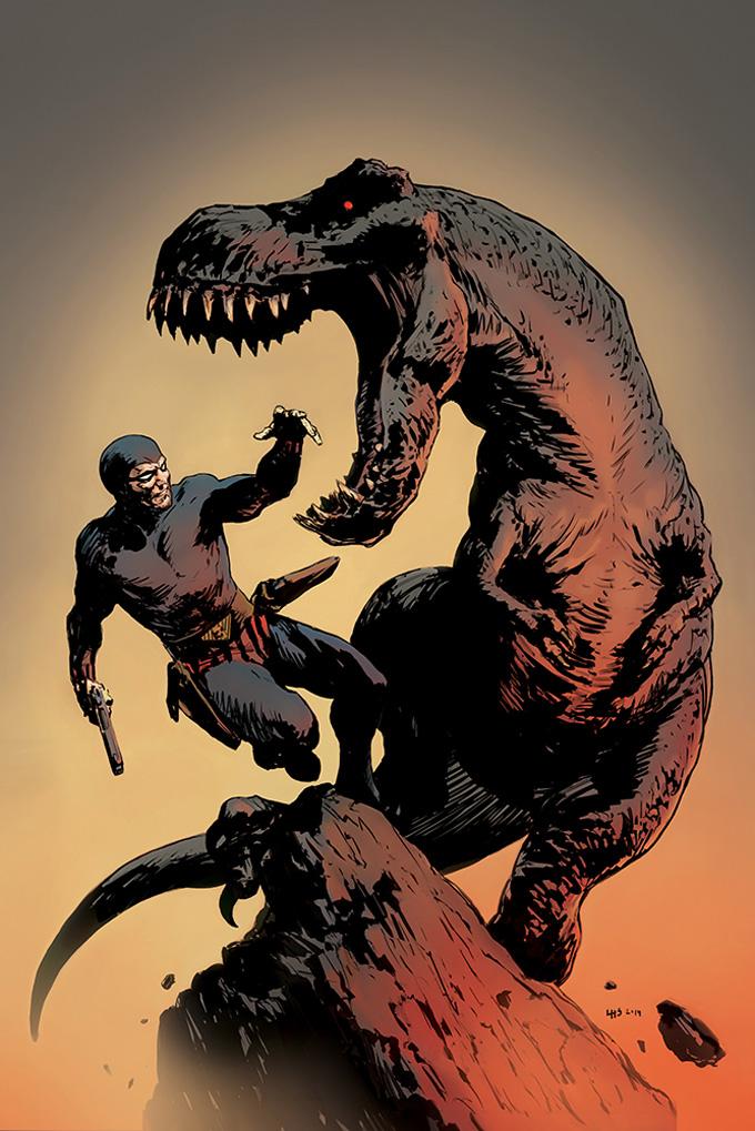 Comic Book Cover Art : The phantom comic book cover art by henrik sahlström