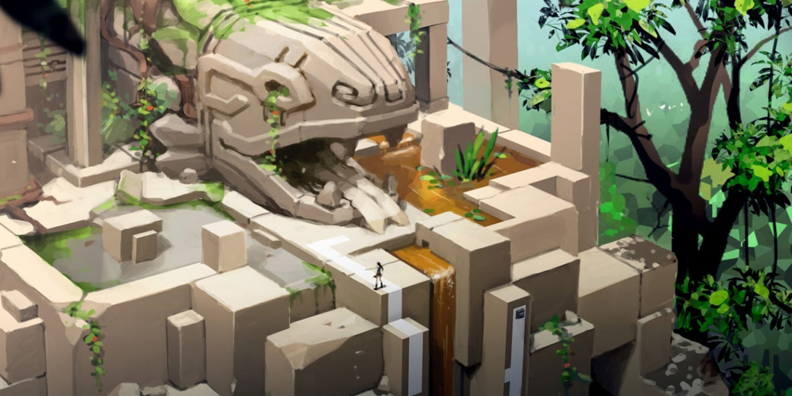 Lara Croft GO Concept Art TD M01