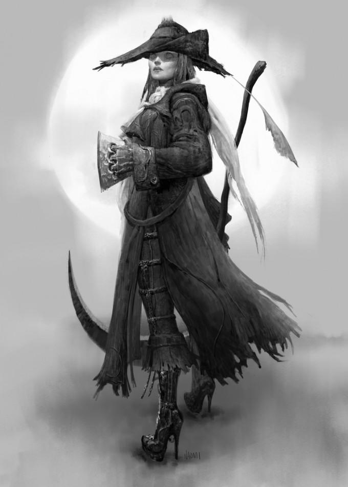 Naomi_Baker_Concept_Art_Bloodborne_Old_Hunters_Gratia