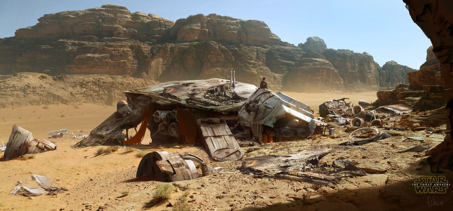 Star Wars: The Force Awakens Concept Art by Andrée Wallin ...