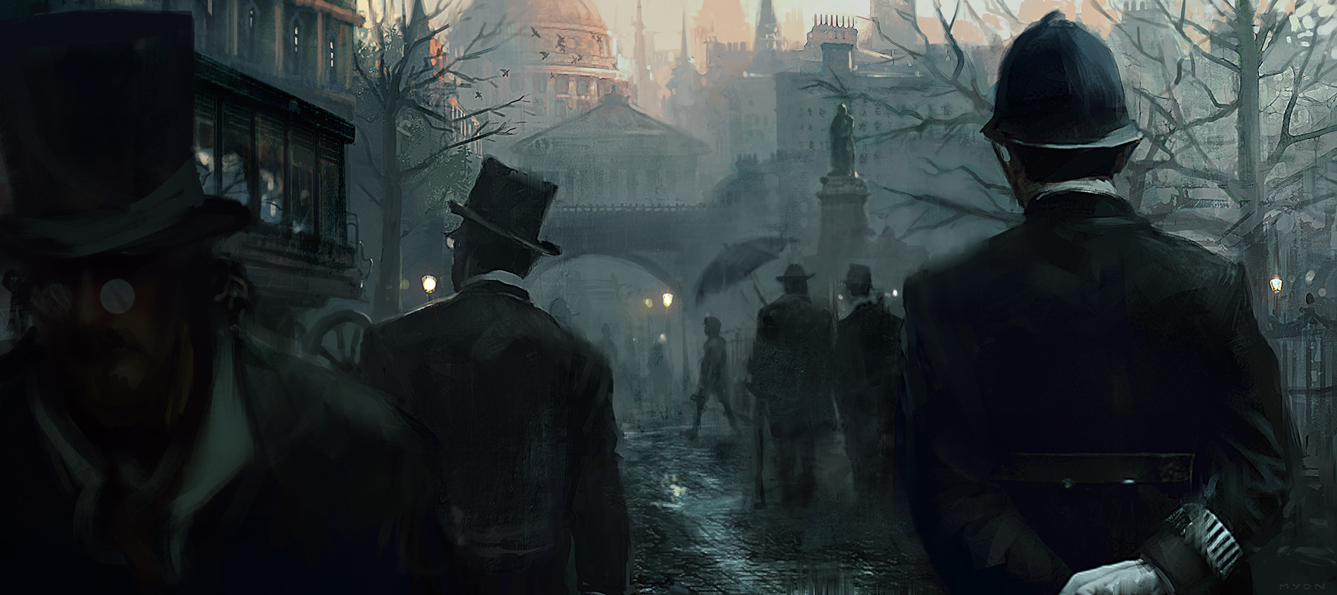 Assassin's Creed Syndicate: Jack the Ripper Concept Art by Morgan