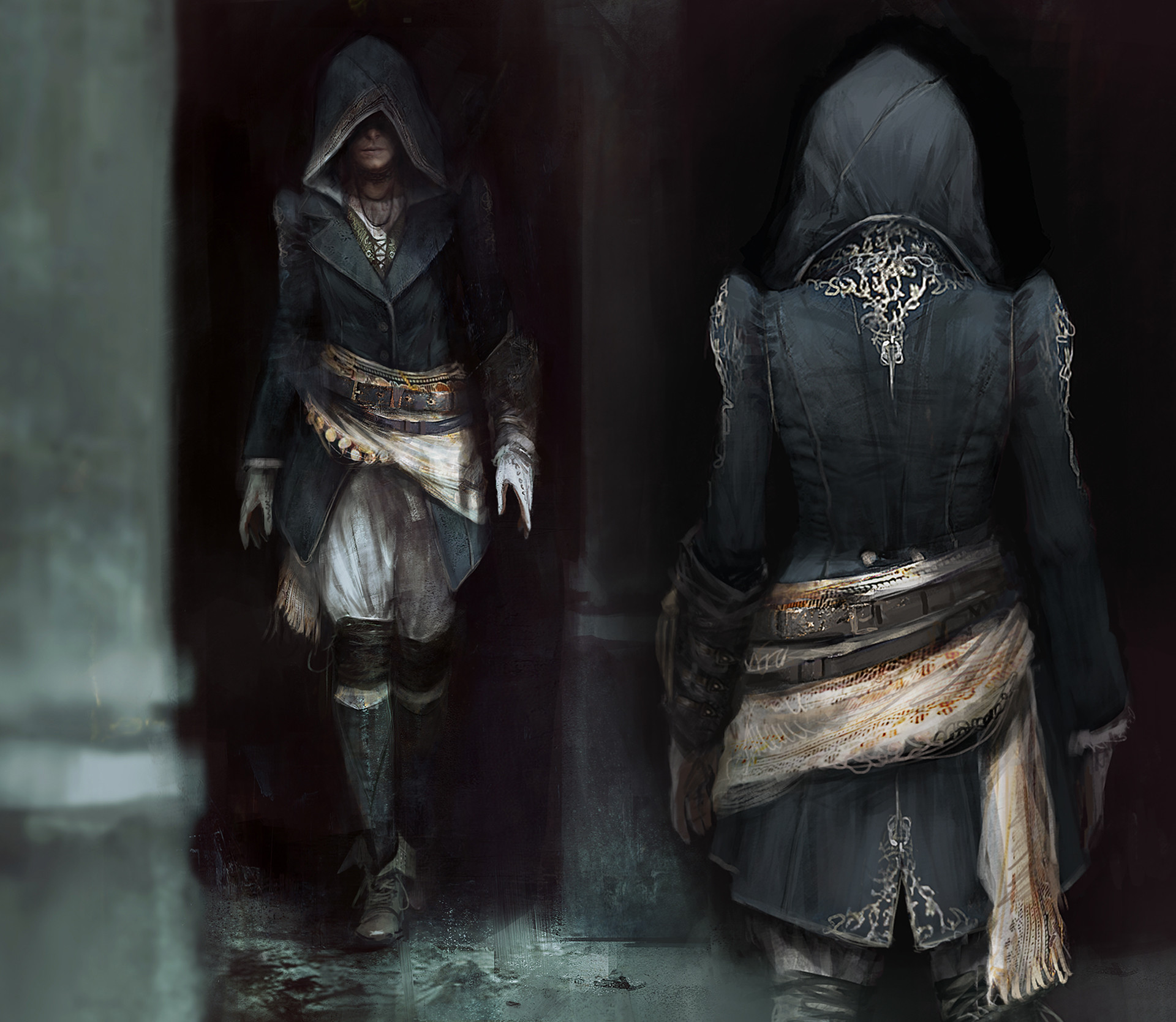 Assassin S Creed Syndicate Jack The Ripper Concept Art By Morgan