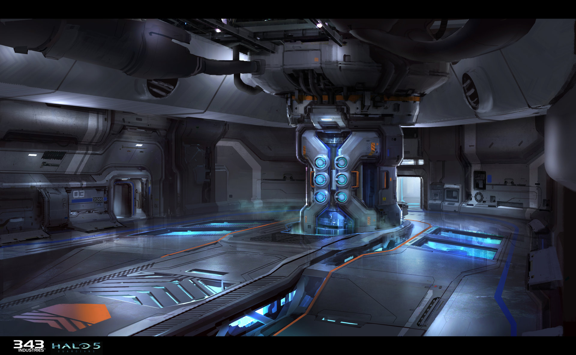 Halo 5 Guardians Concept Art By Sam Brown Concept Art World