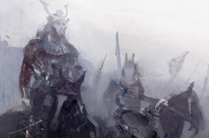 Samurai_Concept_Art_Illustration_01_B_Borkur_Eiriksson