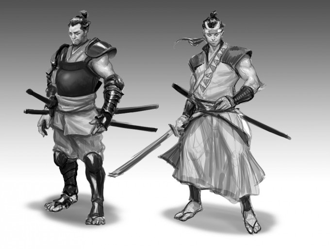 Samurai_Concept_Art_Illustration_01_Eric_Chiang_samurai_demo