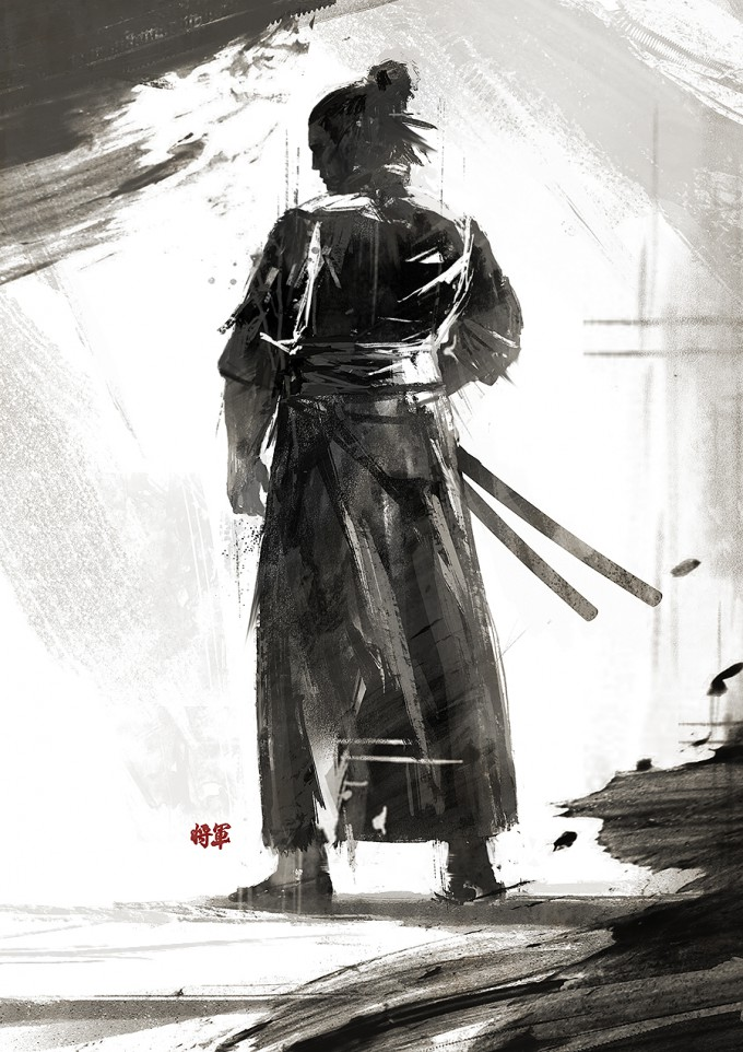 Samurai_Concept_Art_Illustration_01_Juhani_Jokinen