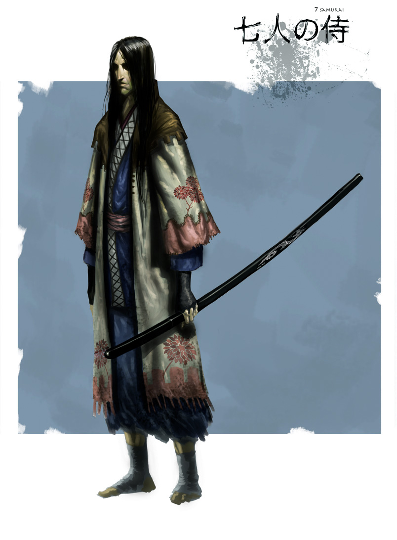 Samurai Concept Art And Illustration I Laptrinhx
