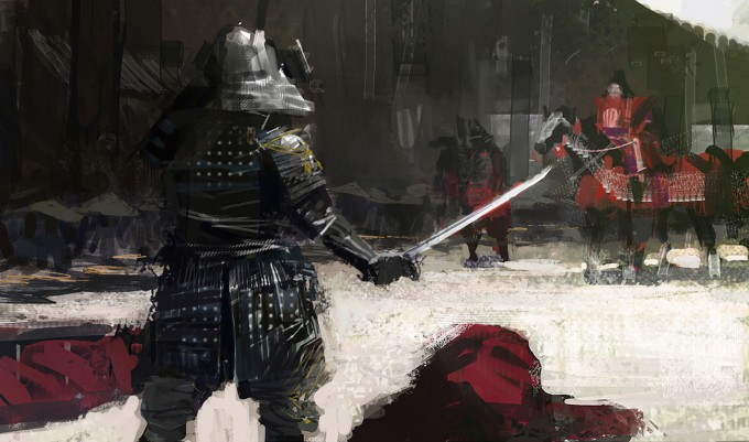 Samurai_Concept_Art_Illustration_01_Paul_Christopher_Shogun_ShowDown