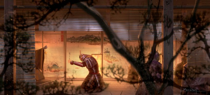 Samurai_Concept_Art_Illustration_01_Zen_Wang