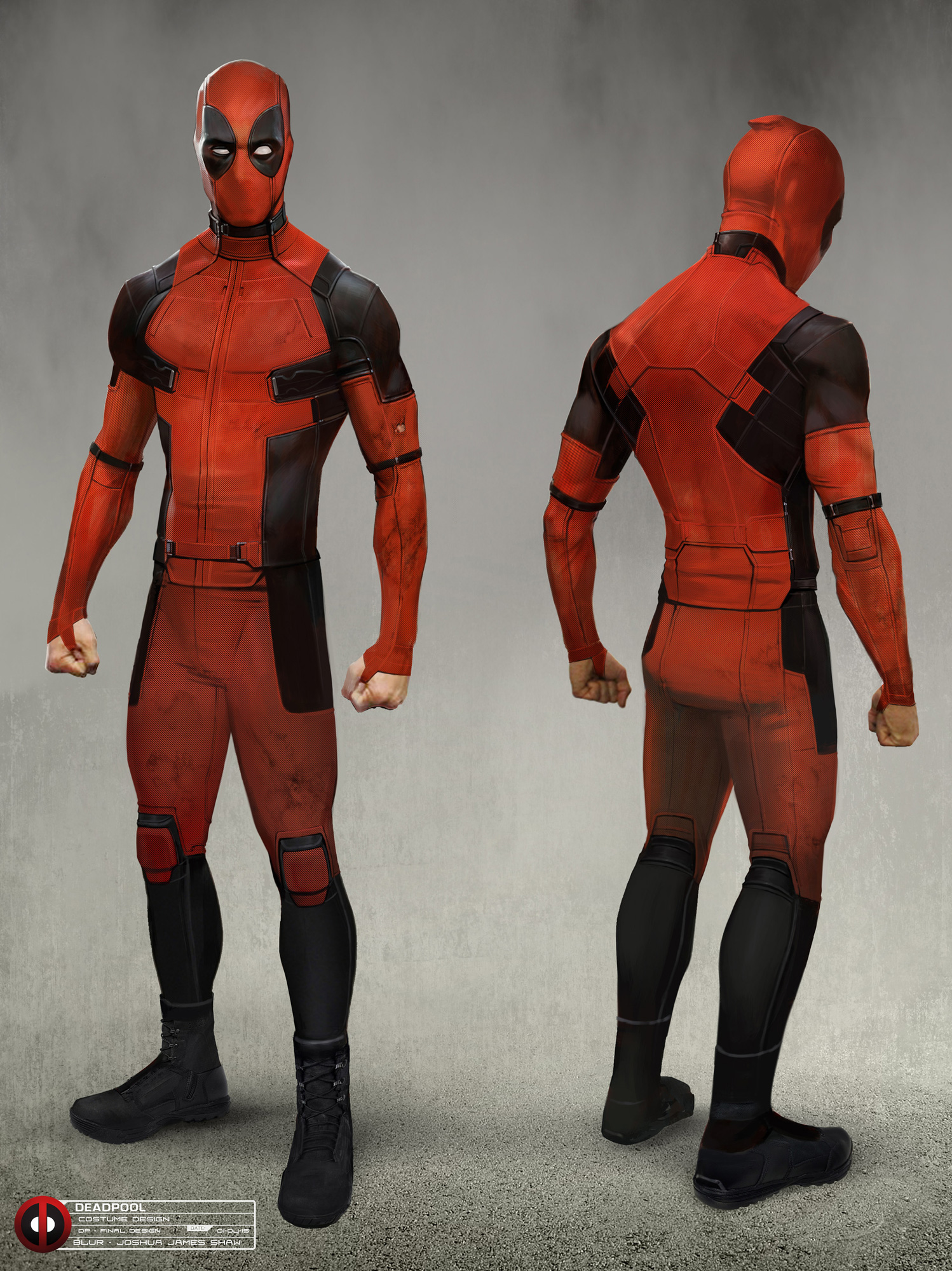 Colossus Deadpool Concept Art