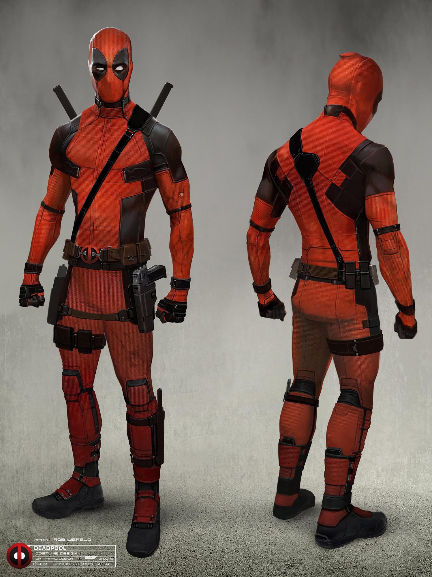 Deadpool Concept Art by Joshua James Shaw | Concept Art World