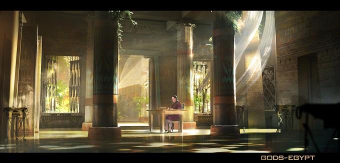 Gods Of Egypt Concept Art By Gerhard Mozsi Concept Art World