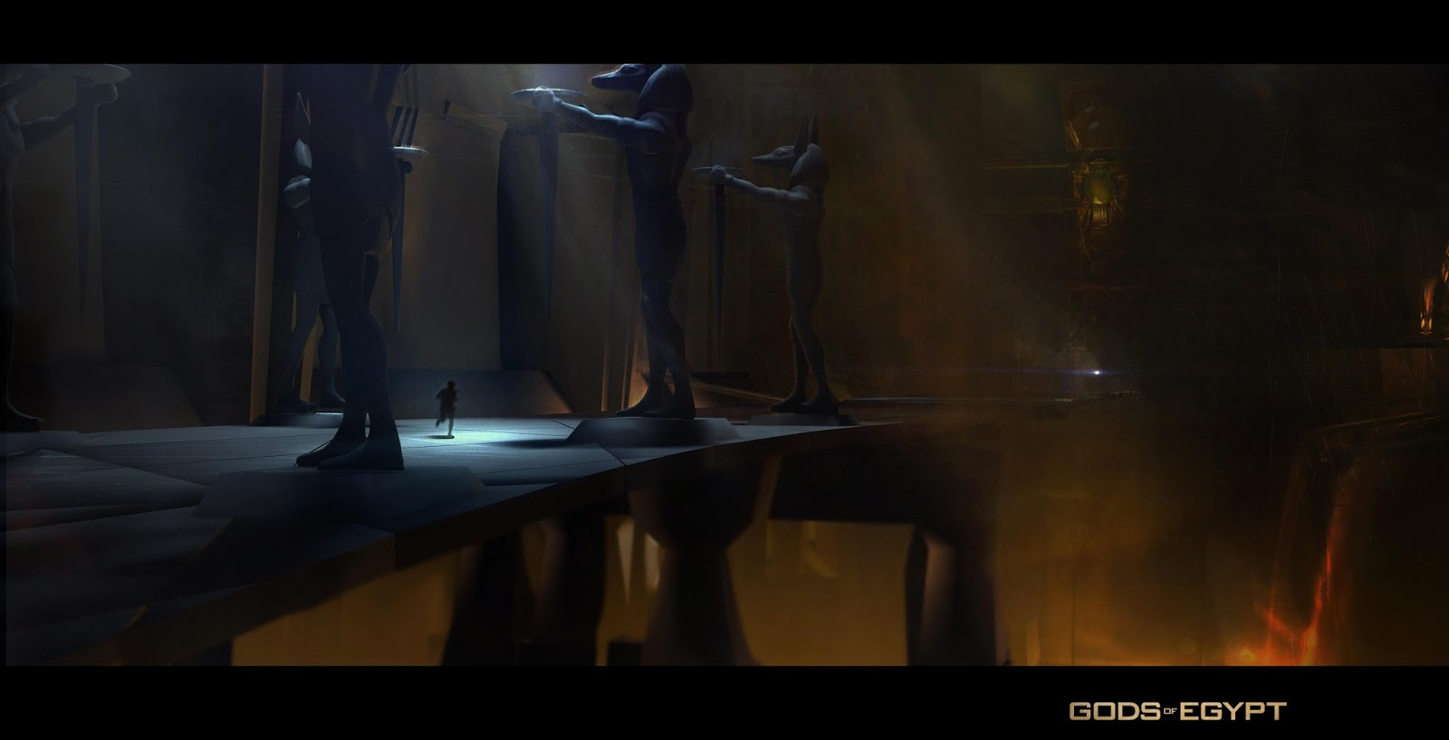 Gods of Egypt Concept Art by Gerhard Mozsi | Concept Art World Gerard Butler
