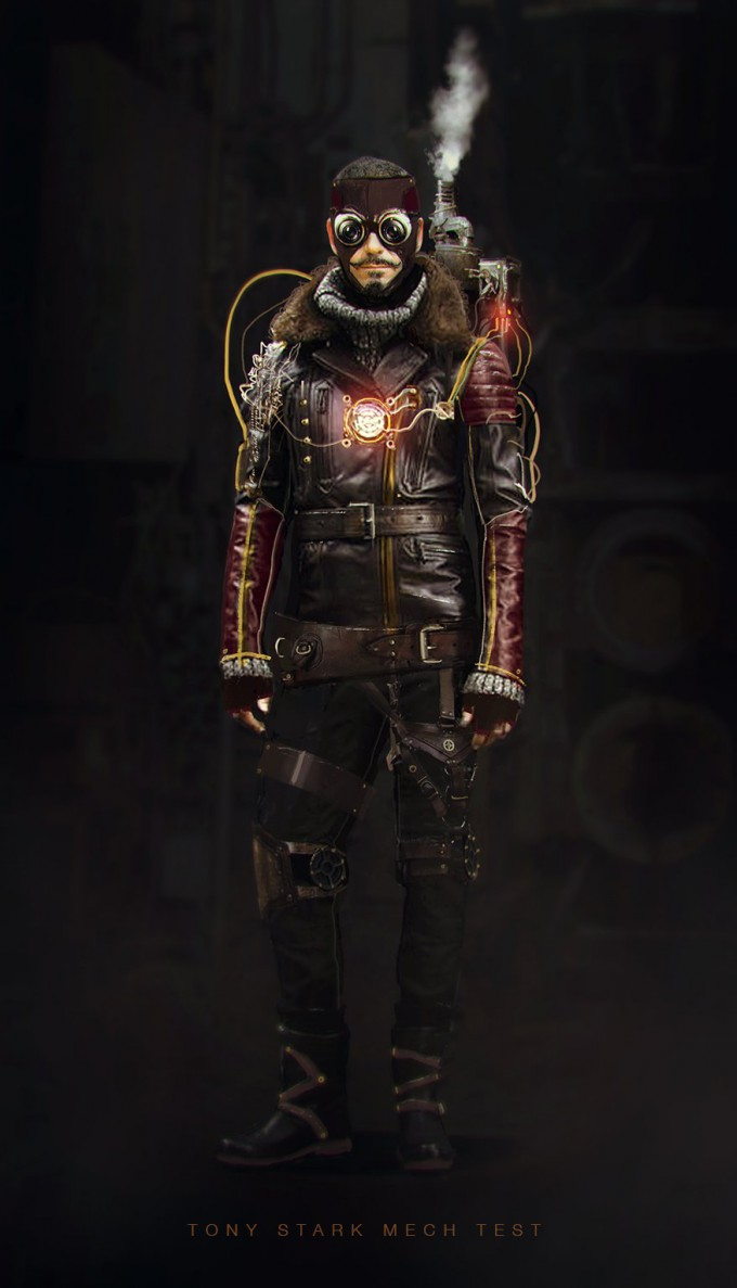 Nicolas_Pierquin_Concept_Art_Iron man_Steampunk_mech