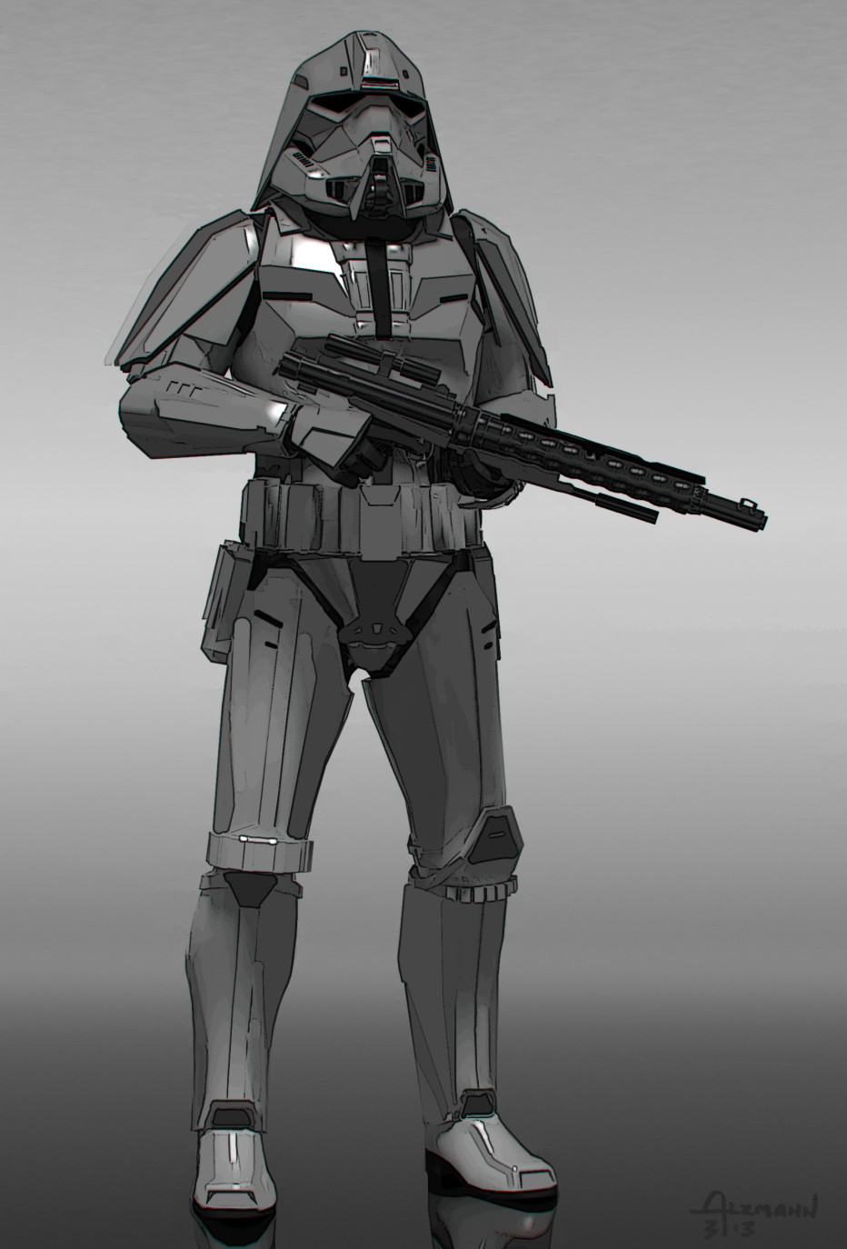 star wars clonetrooper concept - photo #30