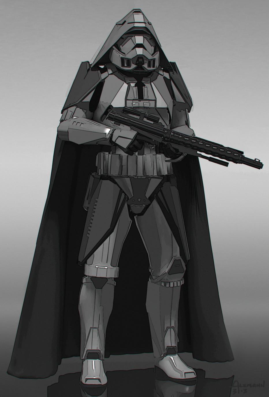 Star Wars 7 Villain Concept Art