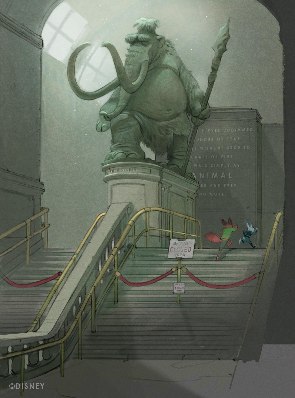 Zootopia Concept Art By Cory Loftis