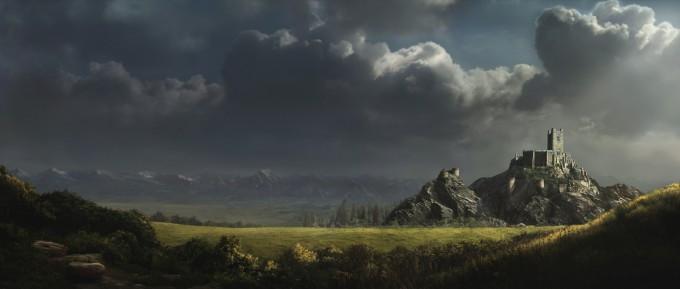 Eric_Bouffard_Matte_Painting_rosalies_castle