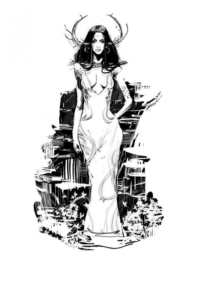 Marco_Nelor_Concept _Art_Elf-Queen