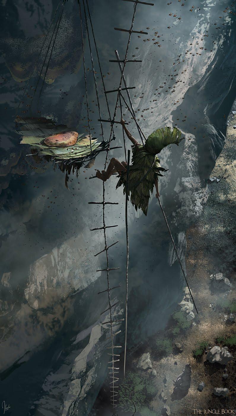 《奇幻森林》原画流出 | 手绘墙