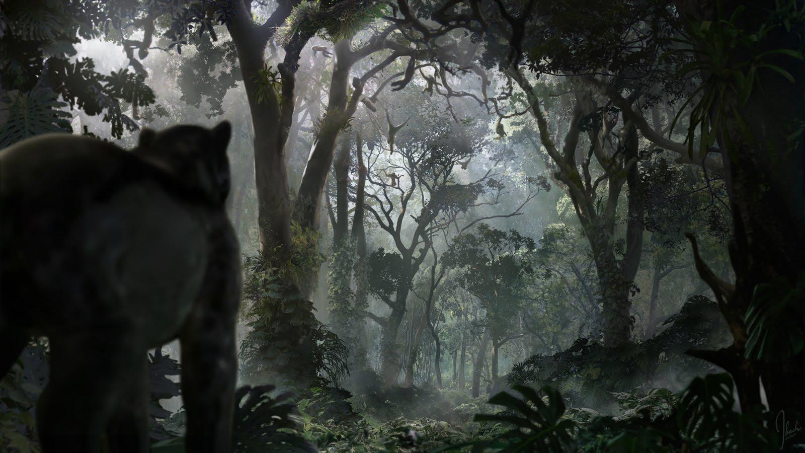 《奇幻森林》原画流出