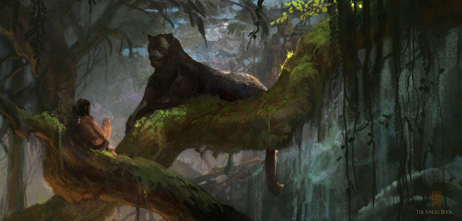 The Jungle Book Concept Art By Vance Kovacs Concept Art