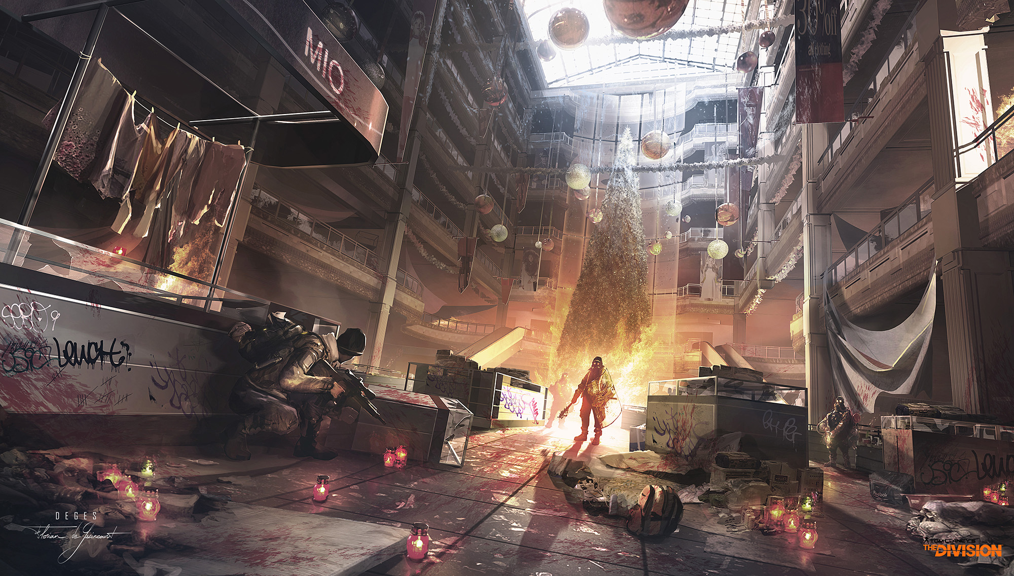 Tom Clancy S The Division Concept Art By Florian De