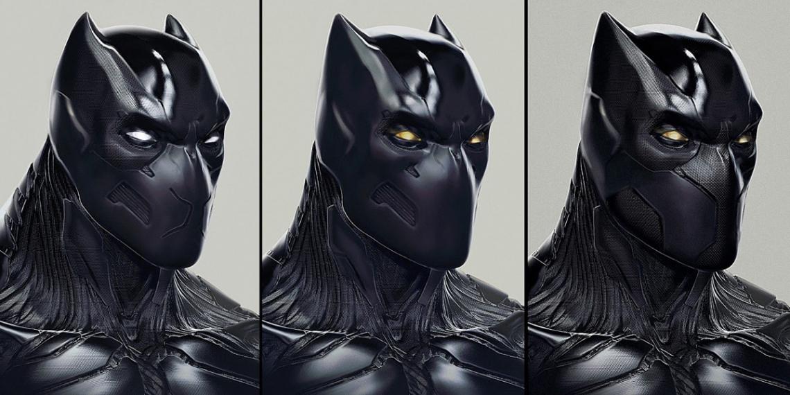 Captain America Civil War Concept Art JM Black Panther M01