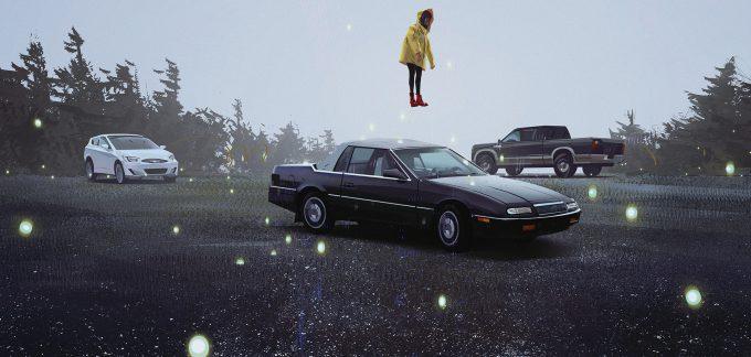 yun ling concept art illustration fog car