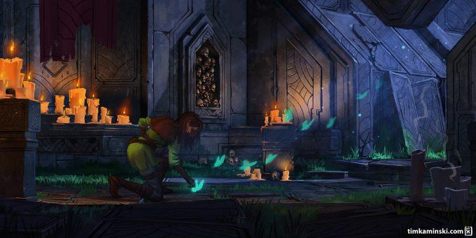 Tim_Kaminski_Concept_Art_Illustration_Ethreal_Dungeon