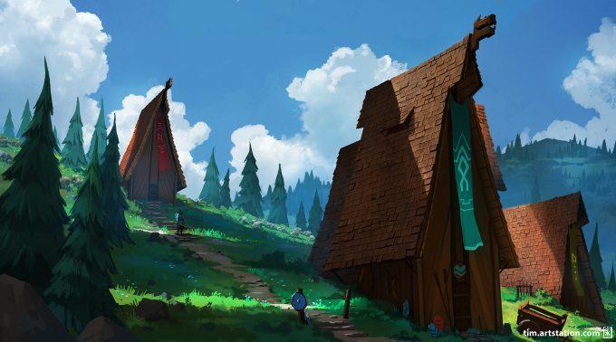 Tim_Kaminski_Concept_Art_Illustration_Vikings