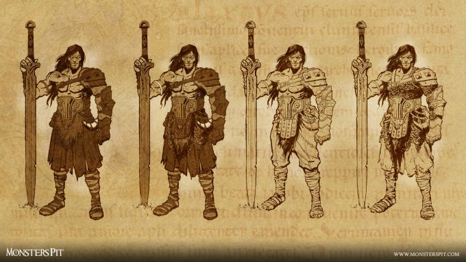Monsters_Pit_Ccreative_Studio_HQ25th-Barbarian-Sketches-#1