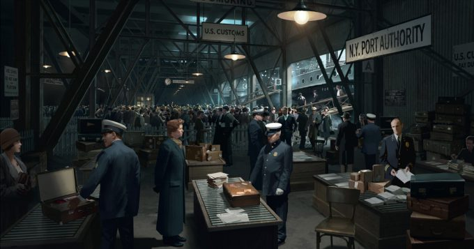 Art of the Film: Fantastic Beasts and Where to Find Them - Concept Art