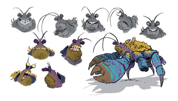disney-the-art-of-moana-concept-art-illustration-19-bill-schwab-tamatoa