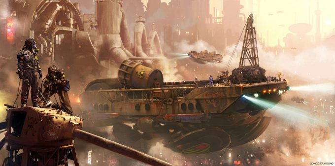 edvige-faini-concept-art-illustration-discharging-port