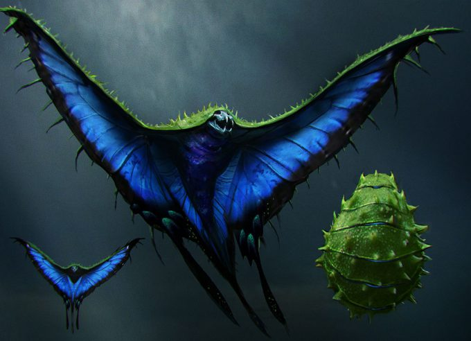 Fantastic-Beasts-and-Where-to-Find-Them-Concept-Art-DB-swooping_evil__001_001