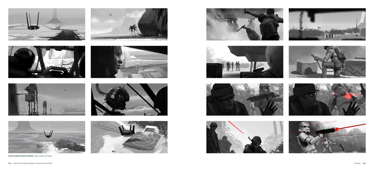 Difference Between Concept Art And Storyboard