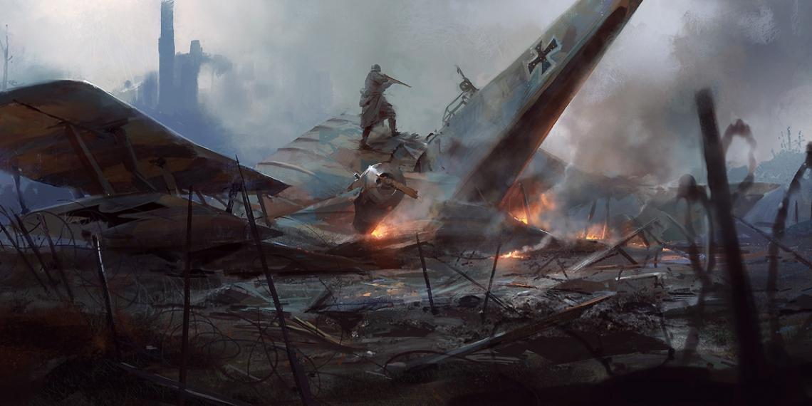 battlefield 1 concept art robert sammelin M01