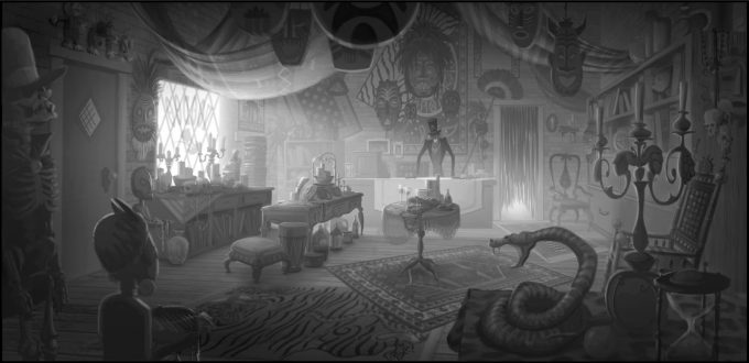 Patrick-Raines-Concept-Art-the-Princess-and-the-Frog-voodoo_emporium