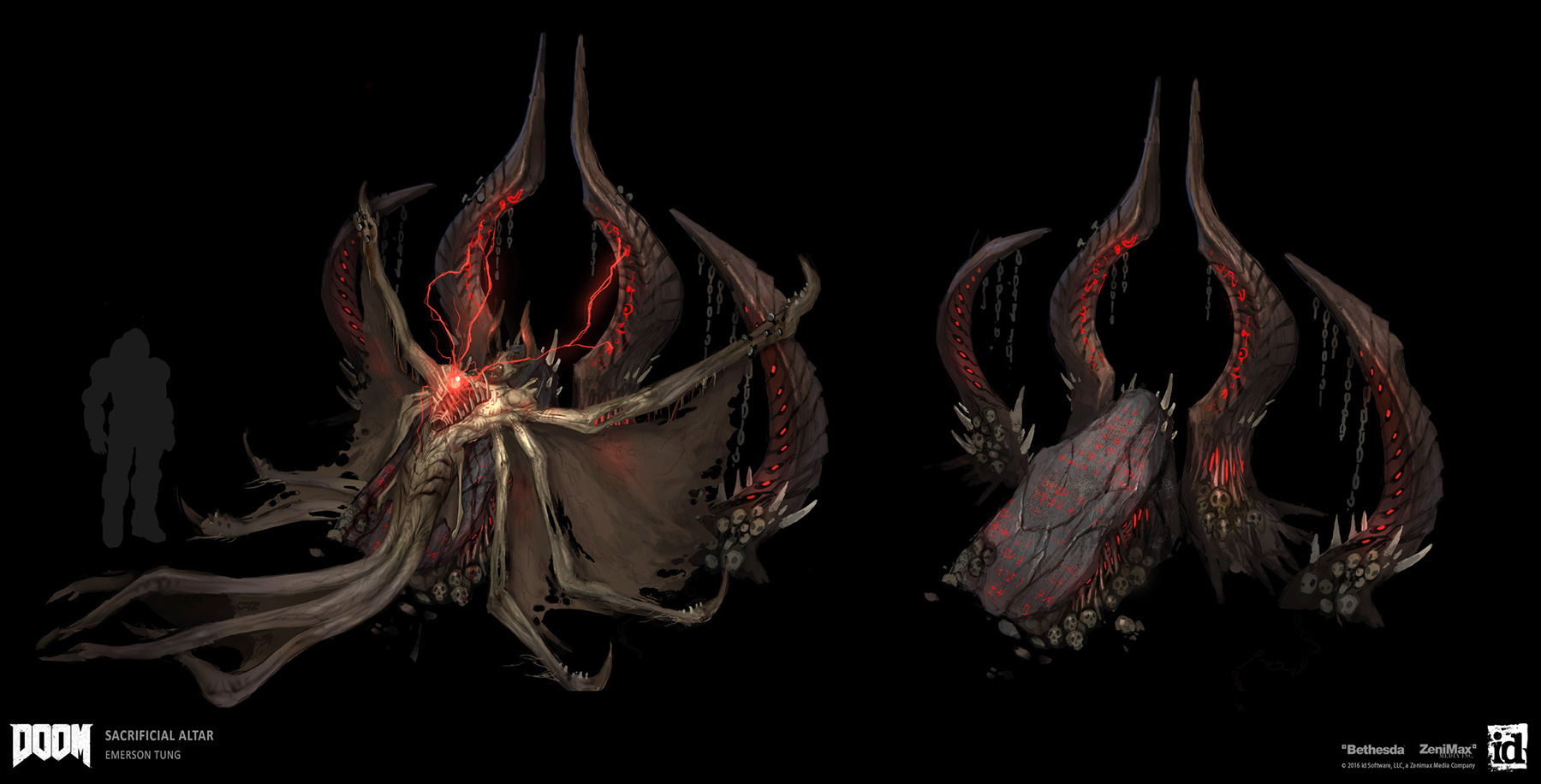 Doom Concept Art Emerson Tung