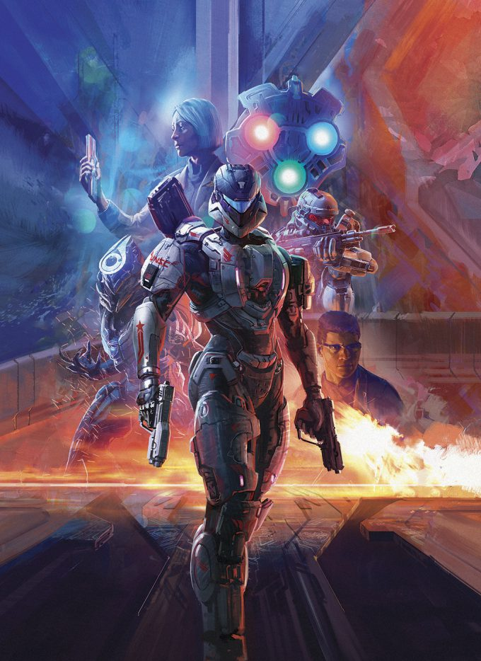 Halo Library Edition Volume 2 cover art illustration IH 01