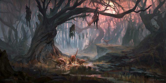 lloyd-allan-concept-art-haul-hangmen-forest