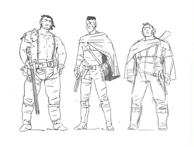 Australi_Comic-Art-Baddies-Sketches