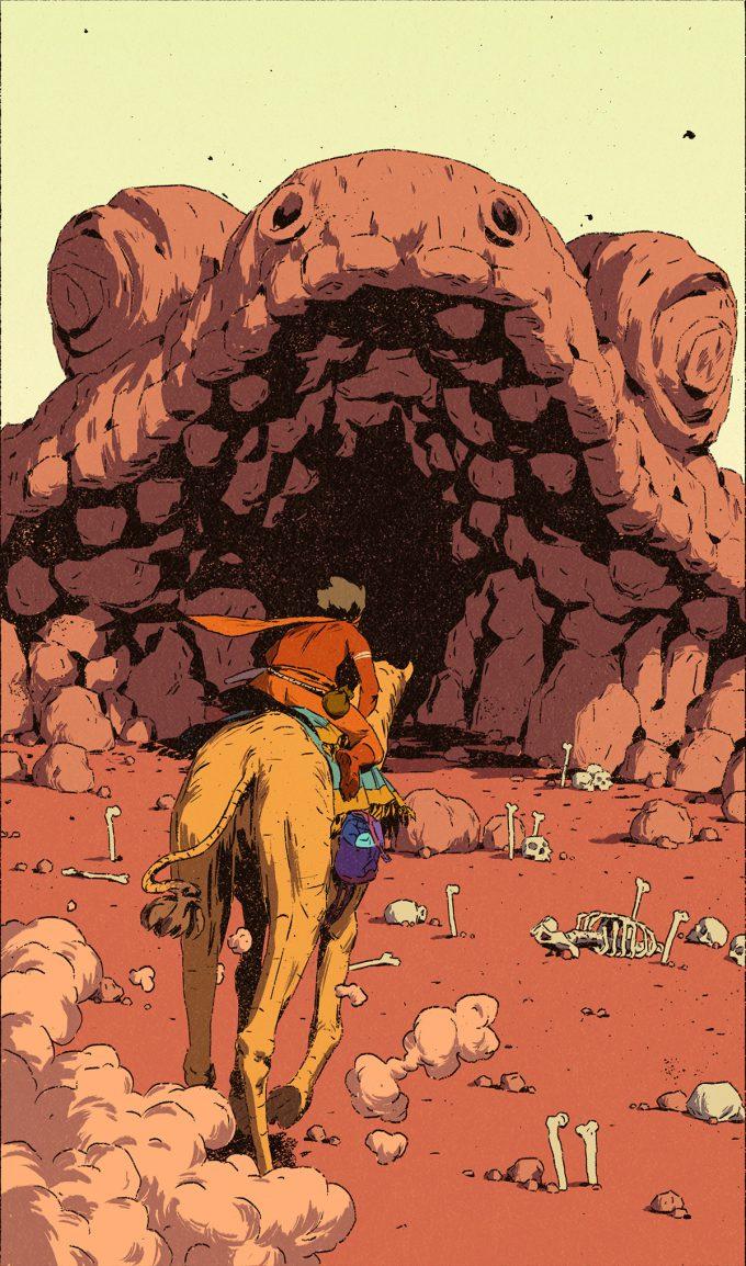 Australi_Comic-Art-Goanna-Cave