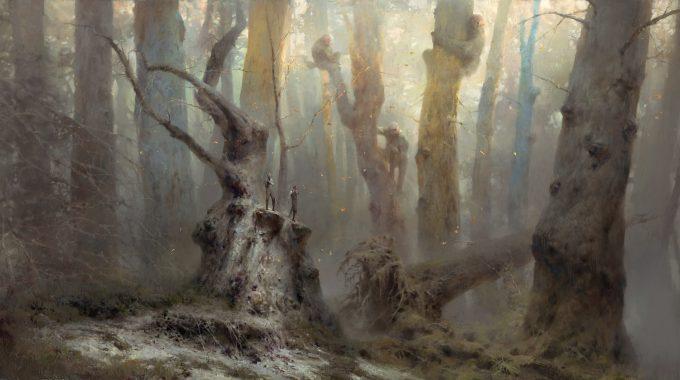 Dishonored 2 Serkonan Legends Paintings piotr jablonski great tree people serkonan legends s
