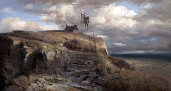 Dishonored 2 Serkonan Legends Paintings piotr jablonski haunted cliffs of cullero s