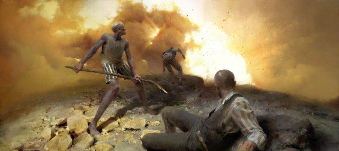 Dishonored 2 Serkonan Legends Paintings piotr jablonski mine fire forty lives lost 1900