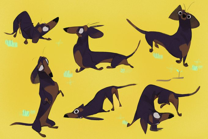 James-Woods-character-design-illustration-01-dogs